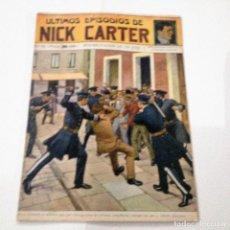 Libros antiguos: ULTIMOS EPISODIOS DE NICK CARTER, Nº 79. Lote 78525765