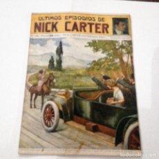 Libros antiguos: ULTIMOS EPISODIOS DE NICK CARTER, Nº 80. Lote 78526313