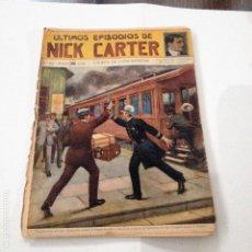 Libros antiguos: ULTIMOS EPISODIOS DE NICK CARTER, Nº 83. Lote 78618153