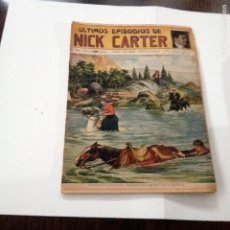 Libros antiguos: ULTIMOS EPISODIOS DE NICK CARTER, Nº 84. Lote 78618733