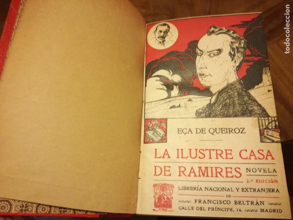 Libros antiguos: libro antiguo la ilustre casa de ramires de eca de queiroz - Foto 2 - 79975317