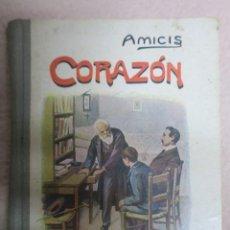 Libros antiguos: CORAZÓN. EDMUNDO DE AMICIS. TRAD. GINER DE LOS RÍOS. MADRID SIN FECHA. LIBRERÍA HERNANDO.309 PP. 9 L. Lote 62098760