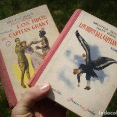 Libros antiguos: JULIO VERNE: LOS HIJOS DEL CAPITAN GRANT, TOMO I Y II, ED.RAMON SOPENA 1933. Lote 80998460