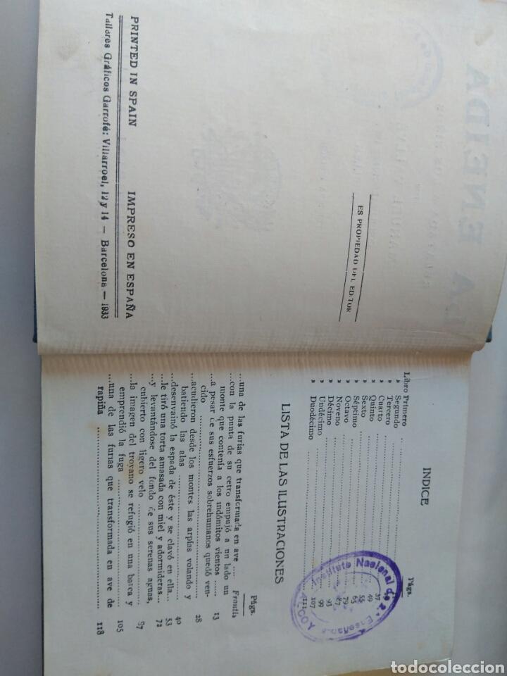 Libros antiguos: LA ENEIDA POR MANUEL VALLVÉ -C.ARALUCE ILUSTRACIONES J SEGRELLES 1933- firmado por SEGRELLES - Foto 3 - 82325092