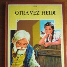 Libros antiguos: LIBRO OTRA VEZ HEIDI (1985) DE JUANA SPYRI. EDITORIAL FHER. COLECCIÓN CLÁSICA JUVENIL Nº 14. NUEVO. Lote 82984324