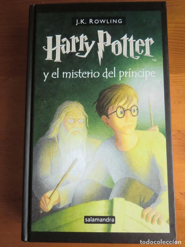 LIBRO HARRY POTTER Y EL MISTERIO DEL PRÍNCIPE (2006) DE J. K. ROWLING. EDITORIAL SALAMANDRA (Libros Antiguos, Raros y Curiosos - Literatura Infantil y Juvenil - Novela)