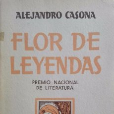 Libros antiguos: ALEJANDRO CASONA. FLOR DE LEYENDAS, MADRID, ESPASA CALPE, 1938. Lote 84631480