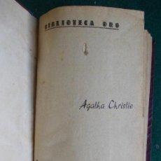 Libros antiguos: BIBLIOTECA DE ORO AGATHA CHRISTIE. Lote 85491360