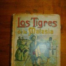 Libros antiguos - SALGARI, Emilio. Los Tigres de Malasia - 87259860