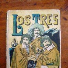 Libros antiguos: FÉVAL, PAUL. LOS TRES HOMBRES ROJOS : (QUINTA PARTE DE EL CASTILLO MALDITO). Lote 87260956