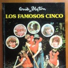 Libros antiguos: LIBRO LOS FAMOSOS CINCO (1979), ESPECIAL T.V. DE ENID BLYTON. EDITORIAL JUVENTUD. BUEN ESTADO. Lote 87674120