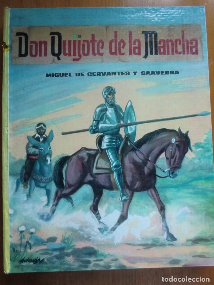 LIBRO DON QUIJOTE DE LA MANCHA (1963) DE MIGUEL DE CERVANTES. EDITORIAL VASCO AMERICANA. COMO NUEVO (Libros Antiguos, Raros y Curiosos - Literatura Infantil y Juvenil - Novela)