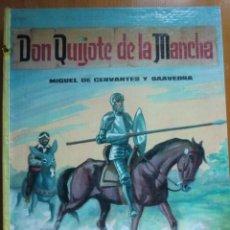 Libros antiguos: LIBRO DON QUIJOTE DE LA MANCHA (1963) DE MIGUEL DE CERVANTES. EDITORIAL VASCO AMERICANA. COMO NUEVO. Lote 87684524