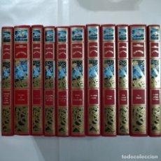 Libros antiguos: VIAJES EXTRAORDINARIOS. LOTE DE 11 LIBROS - JULIO VERNE - CLUB INTERNACIONAL DEL LIBRO - 1989. Lote 87993580