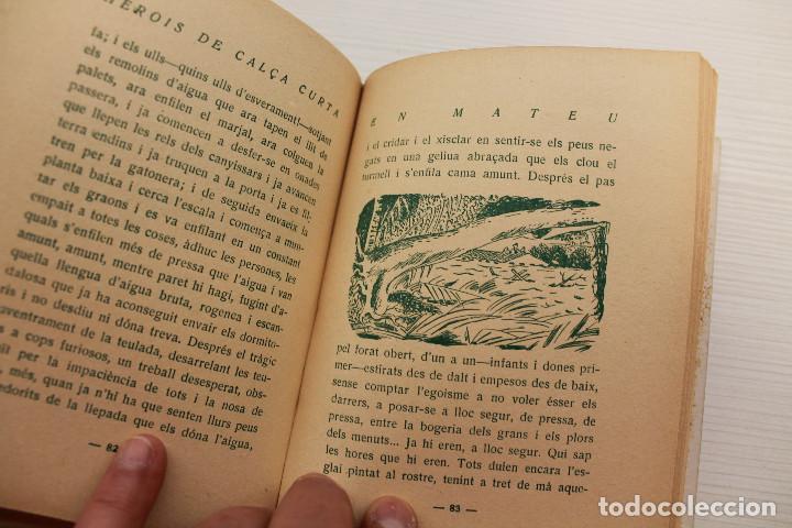 Libros antiguos: HEROIS DE CALÇA CURTA, EN MATEU, JOSEP MIRACLE, EDITORIAL POLÍGLOTA, 1933 - Foto 3 - 89489168