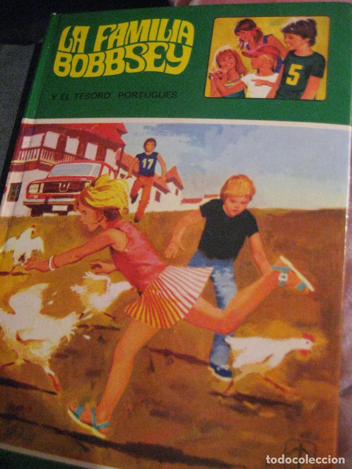 LA FAMILIA BOBBSEY N.º 4, EL TESORO PORTUGUÉS, BUEN ESTADO, 1978 (Libros Antiguos, Raros y Curiosos - Literatura Infantil y Juvenil - Novela)