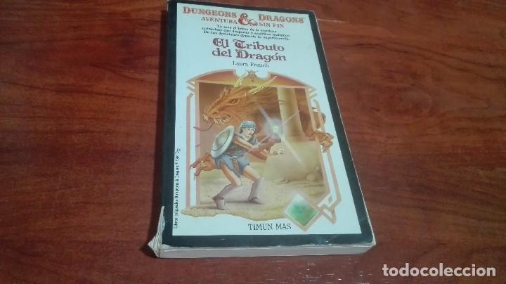 EL TRIBUTO DEL DRAGON (Libros Antiguos, Raros y Curiosos - Literatura Infantil y Juvenil - Novela)