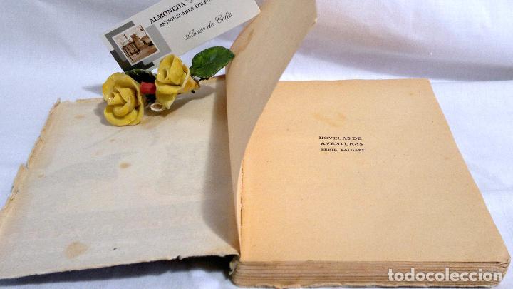Libros antiguos: LOS DOS RIVALES - EMILIO SALGARI - EDITORIAL SATURNINO CALLEJA. PPOS XXs. - Foto 3 - 90770615