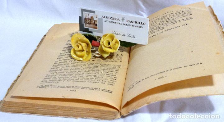 Libros antiguos: LOS DOS RIVALES - EMILIO SALGARI - EDITORIAL SATURNINO CALLEJA. PPOS XXs. - Foto 6 - 90770615