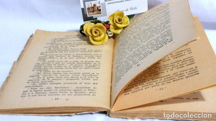 Libros antiguos: LOS DOS RIVALES - EMILIO SALGARI - EDITORIAL SATURNINO CALLEJA. PPOS XXs. - Foto 7 - 90770615