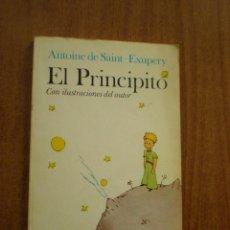 Livros antigos: EL PRINCIPITO - ANTOINE DE SAINT EXUPERY CON ILUSTRACIONES DEL AUTOR. Lote 159957385