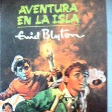 Libros antiguos: AVENTURA EN LA ISLA. ENID BLYTON. . Lote 91349445