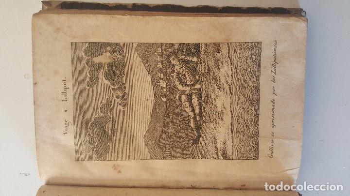 Libros antiguos: VIAJE DEL CAPITAN LEMUEL GULLIVER A LA ISLA DE LILLIPUT - 1831 - Foto 4 - 92459615