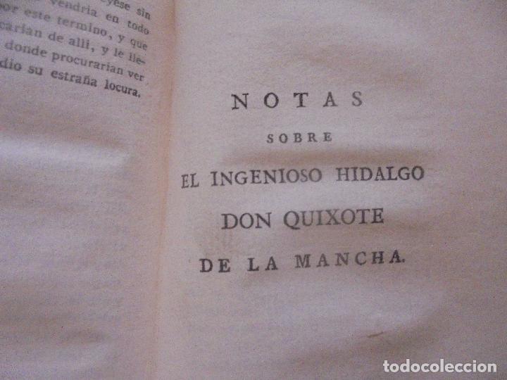 Libros antiguos: Don quijote de la Mancha. - Foto 5 - 92731615