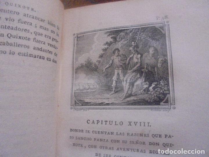 Libros antiguos: Don quijote de la Mancha. - Foto 7 - 92731615