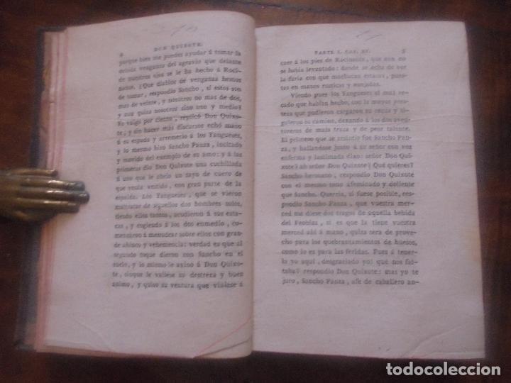 Libros antiguos: Don quijote de la Mancha. - Foto 9 - 92731615