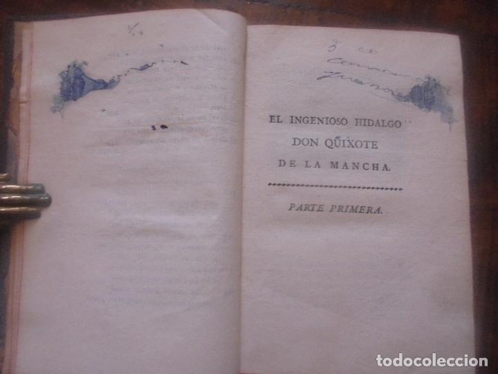 Libros antiguos: Don quijote de la Mancha. - Foto 12 - 92731615