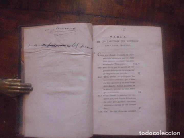 Libros antiguos: Don quijote de la Mancha. - Foto 13 - 92731615