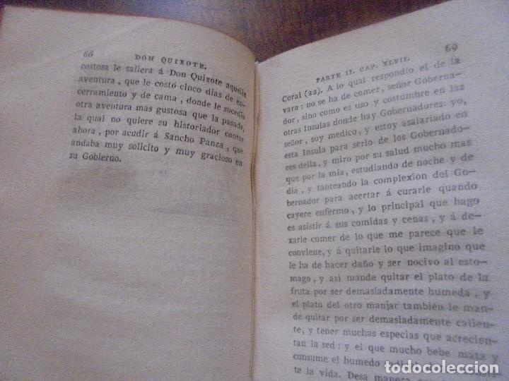 Libros antiguos: Don quijote de la Mancha. - Foto 21 - 92731615