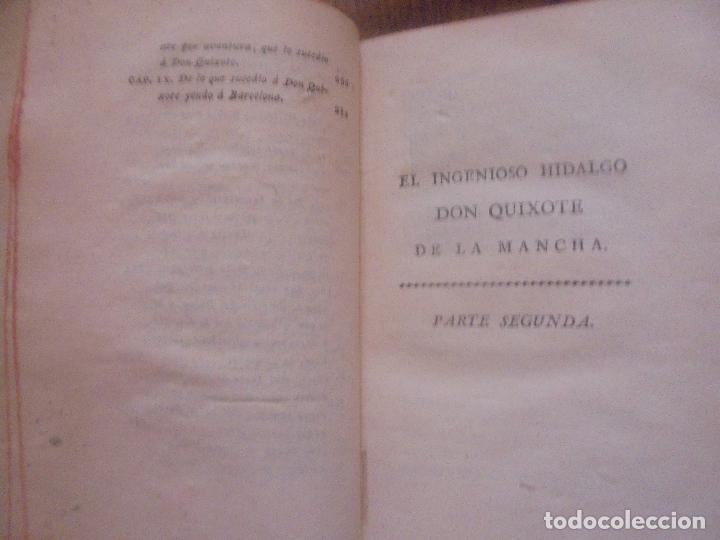 Libros antiguos: Don quijote de la Mancha. - Foto 24 - 92731615