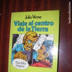 Libros antiguos: (F.1VIAJE AL CENTRO DE LA TIERRA, NOS FALTA AGUA DE JULIO VERNE Nº 17 AÑO 1980 E.BRUGUERA. Lote 94550219