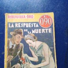 Libros antiguos: LIBRO BIBLIOTECA ORO N° 9.. Lote 95140492