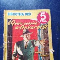 Libros antiguos: LIBRO BIBLIOTECA ORO N° 159.. Lote 95141192