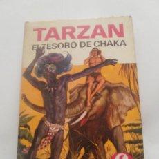Libros antiguos: TARZAN- EL TESORO DE CHAKA. Lote 95372695