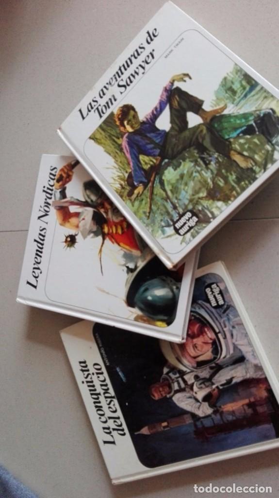 LOTE 3 LIBROS FHER LEYENDAS NORDICAS-LA CONQUISTA DEL ESPACIO-LAS AVENTURAS DE TOM SAWYER (Libros Antiguos, Raros y Curiosos - Literatura Infantil y Juvenil - Novela)