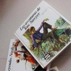 Libros antiguos: LOTE 3 LIBROS FHER LEYENDAS NORDICAS-LA CONQUISTA DEL ESPACIO-LAS AVENTURAS DE TOM SAWYER. Lote 96211639