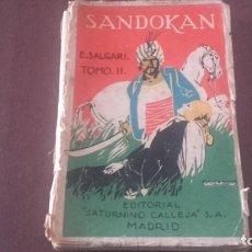 Libros antiguos: SANDOKÁN SALGARI TOMO SEGUNDO. Lote 96417711