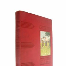 Libros antiguos: CA. 1900 - GEORGE SAND: LA PETITE FADETTE - ILUSTRADO A. PÉCOUD - LITERATURA JUVENIL - 30 X 23 CM.. Lote 96657071