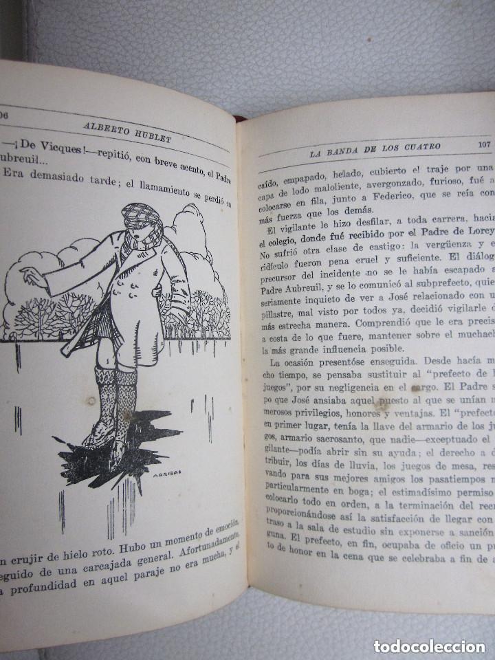 Libros antiguos: La Banda de los Cuatro Aberto Hublet S. I. Editorial Razón y Fé 1930 Biblioteca Coloma - Foto 2 - 97022367