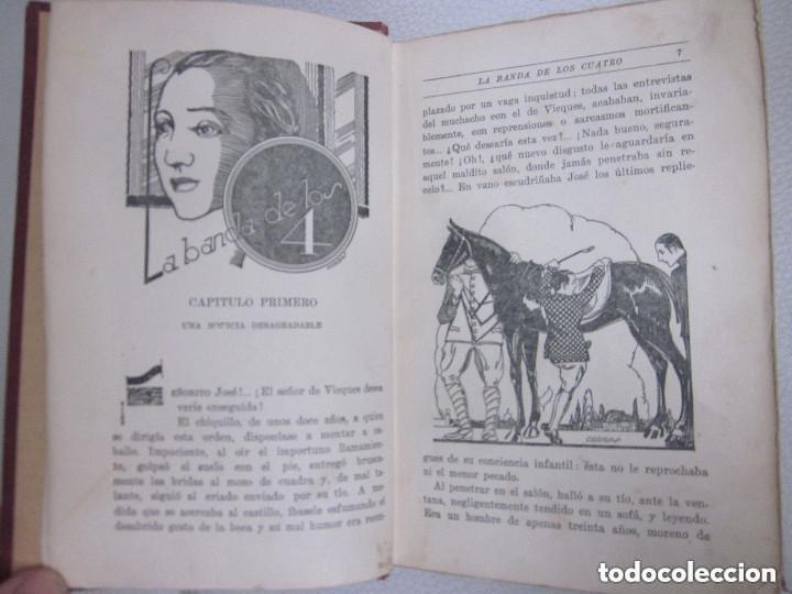 Libros antiguos: La Banda de los Cuatro Aberto Hublet S. I. Editorial Razón y Fé 1930 Biblioteca Coloma - Foto 6 - 97022367