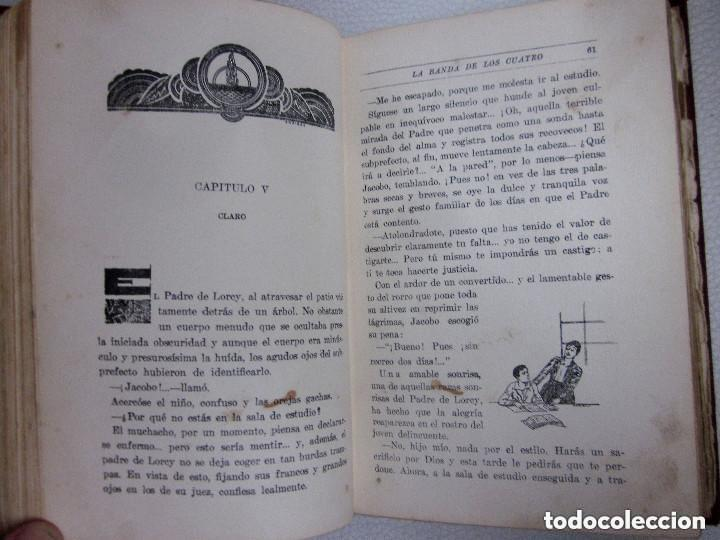 Libros antiguos: La Banda de los Cuatro Aberto Hublet S. I. Editorial Razón y Fé 1930 Biblioteca Coloma - Foto 7 - 97022367