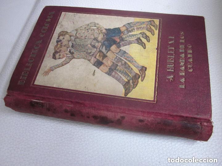 Libros antiguos: La Banda de los Cuatro Aberto Hublet S. I. Editorial Razón y Fé 1930 Biblioteca Coloma - Foto 8 - 97022367