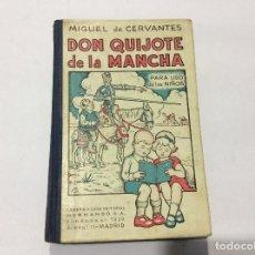 Libros antiguos: EL INGENIOSO HIDALGO DON QUIJOTE DE LA MANCHA PARA NIÑOS. Lote 97831911
