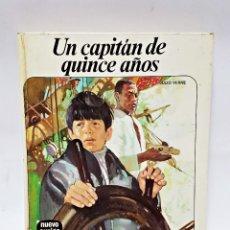 Libros antiguos: LIBRO UN CAPITÁN DE QUINCE AÑOS. JULIO VERNE. Lote 98571179