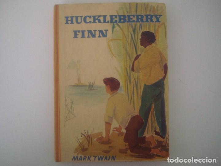 LIBRERIA GHOTICA. MARK TWAIN. HUCKLEBERRY FINN. 1920. EDICION ALEMANA. FOLIO MENOR. (Libros Antiguos, Raros y Curiosos - Literatura Infantil y Juvenil - Novela)