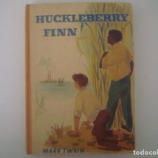 Libros antiguos: LIBRERIA GHOTICA. MARK TWAIN. HUCKLEBERRY FINN. 1920. EDICION ALEMANA. FOLIO MENOR.. Lote 98950407